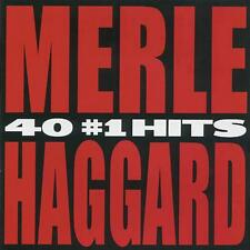 MERLE HAGGARD CD - 40 #1 HITS [2 DISCS](2004) - NEW UNOPENED - COUNTRY