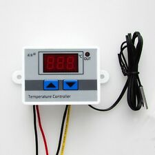 1PCS 12V Digital LED Temperature Controller 10A Thermostat Control Switch Probe