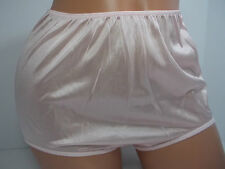 Sears Fundamentals 100% Nylon Pink Brief Panty Beige Size 6