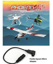 Phoenix R/C Pro Flight Simulator V5.5 Version RTM5500 w/ Futaba Square Adapter