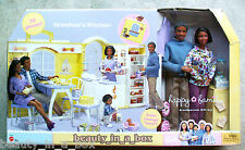 Grandma's Kitchen Happy Family Barbie Doll Grandpa African American NRFB OK AA