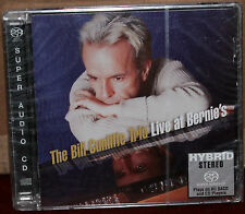 GROOVE NOTE SACD GRV 1009-3: Bill Cunliffe Trio, Live At Bernies OOP 2001 USA SS