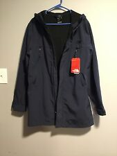 The North Face Mens Apex Bionic Trench Jacket Blue size SMALL URBAN NAVY $199