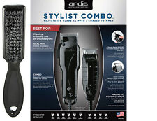 Andis Stylist Combo Envy Adjustable Blade Clipper & T-Outliner T-Blade Trimmer