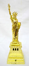 Augustus Gold Statue of Liberty Metal Vintage Collectible Showpiece