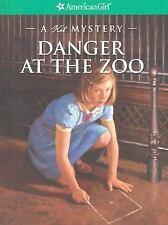 American Girl Doll A Kit Mystery Danger at the Zoo Paperback Book NEW
