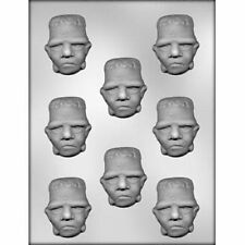 Frankenstein Face Chocolate Mold Halloween MOnster