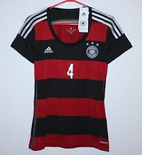 Germany National Team away women's shirt 14/15 #4 Howedes Adidas BNWT Size S