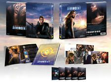 DIVERGENT [Blu-ray] + Booklet BOX SET, NEW~ (Limited 700) Copies / (Region A)