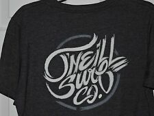 O'Neill GRAY Hell-raiser mens M Tee Front & Back w/POCKET NWT O'Neill Surf Co