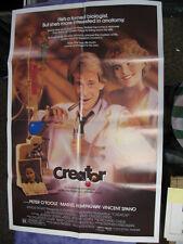 One Sheet Movie Poster - Creator - Peter Otoole Mariel Hemingway