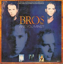 Bros, Are You Mine?, NEW/MINT Ltd edition postcard pack 7 inch vinyl single