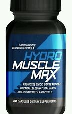 HYDRO MUSCLE MAX 60 CAPSULES RAPID MUSCLE GROWING FORMULA