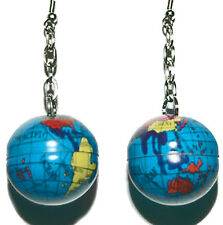 FUN GLOBE DANGLE EARRINGS (D003)