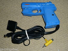 PLAYSTATION 2 PS2 1 PS1 PSOne LIGHT GUN PISTOL in Blue Game Controller Blaster