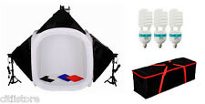 "32"" Tent Photostudio Square Softbox 175W Bulb Photography Backdrops cloth Suit"