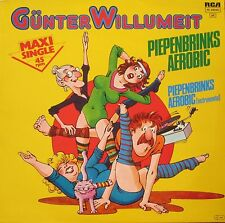 "Günter Willumeit - Piepenbrinks Aerobic (12"" RCA Vinyl Maxi-Single Germany 1983)"