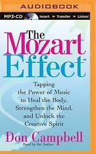 The Mozart Effect by Don Campbell (2015, MP3 CD, Abridged)
