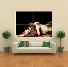 TATTOO SEXY NAKED WOMAN LADY  NEW GIANT POSTER WALL ART PRINT PICTURE G1202