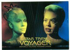PROMO CARD - STAR TREK - VOYAGER - HEROES & VILLAINS - #P1 - JERI RYAN