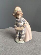 Rare Lladro Figurine #5695 Concertina Musician Accordion Figurine Retired
