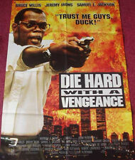 Cinema Poster: DIE HARD WITH A VENGEANCE 1995 (Advance One Sheet) Bruce Willis
