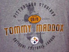 PITTSBURGH STEELERS Tommy Maddox longsleeves med T shirt 2002 quarterback tee