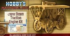 Steam Traction Engine Kit C.1910 matchstick model kit Hobby's Matchbuilder - NEW