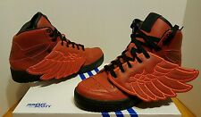 Adidas JS Jeremy Scott Wings BBALL color Red Style  S77803 size 8 Men's US