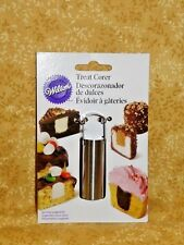 Corer,Treats,Cupcakes, Wilton,Metal Specialty Tool,Cores Treats,2 3/4 in.Tall