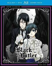 Black Butler: The Complete First Season (Blu-ray/DVD, 2015, 7-Disc Set)
