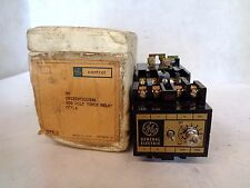 NEW GE GENERAL ELECTRIC CR122BT02202A TIMER TIME DELAY RELAY 115V COIL 600V