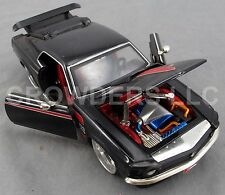 Jada Toys 1970 Ford Mustang Boss 429 Black & Red Decals Big Time Muscle Die Cast
