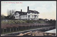 Duluth-Minnesota-U.S. Government Fish Hatchery-Antique Postcard