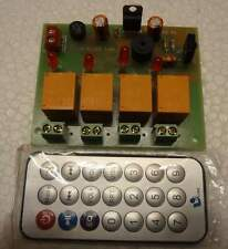 IR 4 Channel Remote Controlled Relay Board Module Firmware