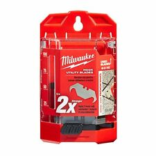 Milwaukee 48-22-1952 50 PC Hook Utility Knife Blades w/ Dispenser *