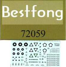 Bestfong Decals 1/72 REPUBLIC OF CHINA ARMY VEHICLES LOW VIZ MARKINGS