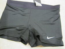 NWT NIKE WOMEN'S DRIFIT TENNIS/TRAINING COMPRESSION SHORTS (XLARGE) BLACK 523562