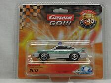 Carrera 61112 GO Slot Car Porsche GT3 Polizei Deutschland