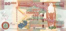 Zambia 20000 Kwacha 2011 Unc Pn 47g
