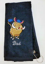 Personalized Embroidered Golf/Bowling Towel  The Warthog