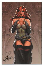 Joseph Michael Linsner SIGNED Comic Art Print ~ Cry for Dawn