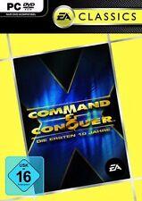 10 x Command & Conquer en 10 primeros años Edition * como nuevo