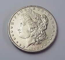 U.S.A - DATED 1898 - SILVER - MORGAN - $1 ONE DOLLAR COIN - AMERICAN SILVER COIN