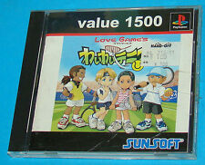 Wai Wai Tennis 2 - Sony Playstation - PS1 PSX - JAP Japan