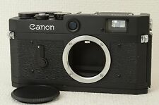 CANON P Black Rangefinder Camera Body Repaint [Excellent] from Japan (06-P04)