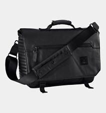 $199 NWT UNDER ARMOUR 35th And O Messenger LOGO Laptop Bag Black 1249561 NEW
