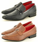 """Men's Designer Leather """"LOOK"""" Loafers Driving Causal Slip On Shoes UK Size 7-11"""