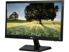 "LG 20M37D-B Black 19.5"" 5ms Widescreen LED Backlight LCD Monitor"