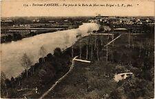 CPA Environs d'Angers - Vue prise de la Roche de Murs vers Erigne (253996)
